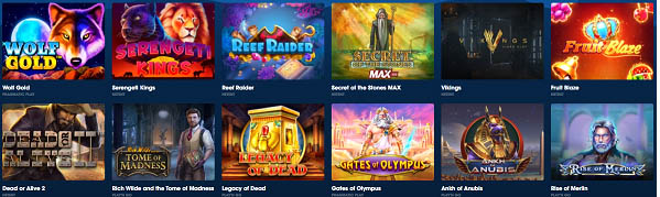 wolfbet slot providers